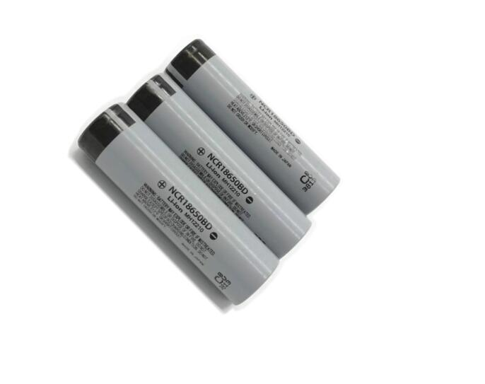 Panasonic NCR18650BD 100% Original 3.7v 3200mAh Li-ion Battery