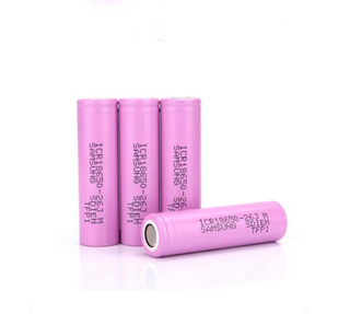 Samsung ICR18650 26J 3.7V 2600Mah Rechargeable Lithium Battery Lithium Battery Cell